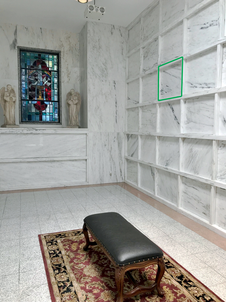 Indoor Mable Room Mausoleum In Boca Raton Fl Talk Of The