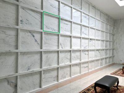 Indoor Mable Room Mausoleum in Boca Raton FL The Villages Florida