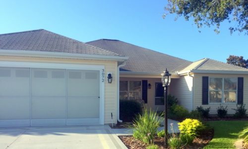 3 Bedroom Designer Home for Rent Glenbrook The Villages Florida