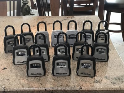 Master Key Lock Boxes Model 5400D The Villages Florida