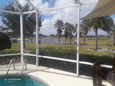 House for sale with spectacular views over water and golf courses and glorious sunsets The Villages Florida