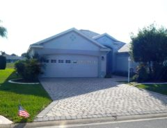 3 BR/2 Bath Designer Home with Pond View Privacy and Golf Cart! The Villages Florida