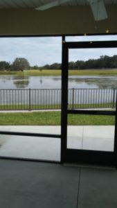 Unfurnished villa for rent with large pond view The Villages Florida