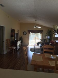 Courtyard villa available for rent! The Villages Florida