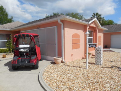 Courtyard Villa in Excellent Condition The Villages Florida
