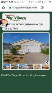 LONG TERM rental patio villa 1200.00 pet friendly The Villages Florida