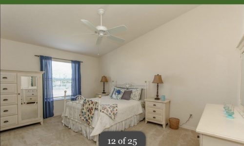 2/2 Patio Villa in Lake Sumter – Great Private Corner Lot Short Term or Long term The Villages Florida