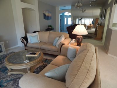 3BR/2Bath for November 2019- 2 wk minimum! Beautiful View, Privacy and Golf Cart Included! The Villages Florida