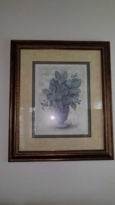 Beautiful framed picture The Villages Florida