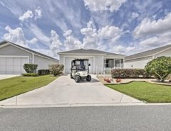 Patio Villa in Fernandina — FREE Golf Cart, Great Location The Villages Florida