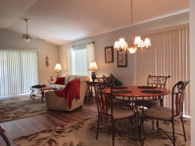 Lovely Courtyard Villa for Rent The Villages Florida
