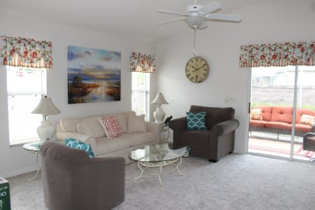 Pennecamp Courtyard Villa – Fall Months Available The Villages Florida