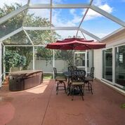 Newly Remodeled and Totally Updated Designer Courtyard Villa ~ Walking Distance to Sumter Landing The Villages Florida