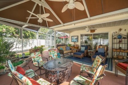 Newly Remodeled and Totally Updated Designer Courtyard Villa on Steroids ~ Walking Distance to Sumter Landing The Villages Florida