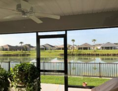 New Waterfront Furnished 3 bdrm Rental Available LONG TERM 11/01/19 The Villages Florida