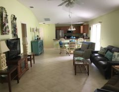 Fully furnished court yard villa in Duval corner lot room for pool The Villages Florida