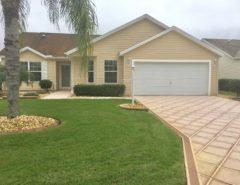 Remodeled Designer Home Now for Rent (April onwards) – Walk to Lake Sumter Landing, Virginia Trace The Villages Florida
