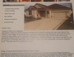 3 bedroom designer in sunset point The Villages Florida