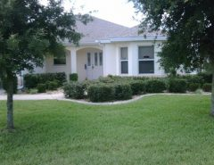 Golf View Designer 3/2 Unfurnished Home in Bonnybrook The Villages Florida
