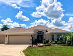 Golf Front/Water View Expanded Lantana – Beautiful Move-In Ready Home; CDC Guidelines Followed The Villages Florida