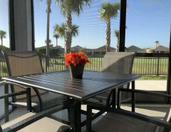 Pet Friendly, Golf View, 3/2 Courtyard Villa The Villages Florida