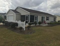 Patio Villa on a corner lot in the VIllage of Collier.  BOND PAID! The Villages Florida