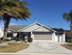 FS: Wisteria with Golf Cart Garage – Village of Caroline The Villages Florida