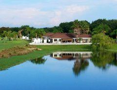 Golf & water view 3/2 court yard villa The Villages Florida