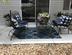 Short term rental available June 1, 2021, 2/2 bath fully furnished and updated with golf cart. $1,600 per month plus deposit. Alhambra Village close to Spanish Springs area. The Villages Florida