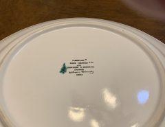 """White Christmas"" Dinnerware set The Villages Florida"