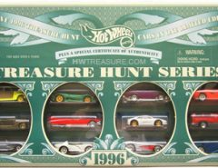 (12) _Hot Wheels Treasure Hunt Box Sets (Many years in ad) ALL EXCELLENT CONDITION)__PLEASE READ!!! The Villages Florida